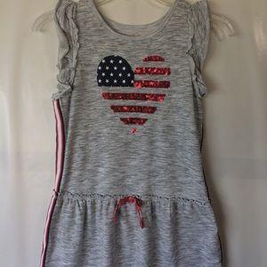 Patriotic sequin dress